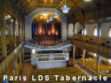 Paris Tabernacle in Paris Idaho