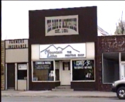 """original """"Bank of Montpelier"""" and is the site of the infamous Butch Cassidy bank robbery"""