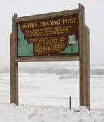 Peg Leg Smith Highway Marker