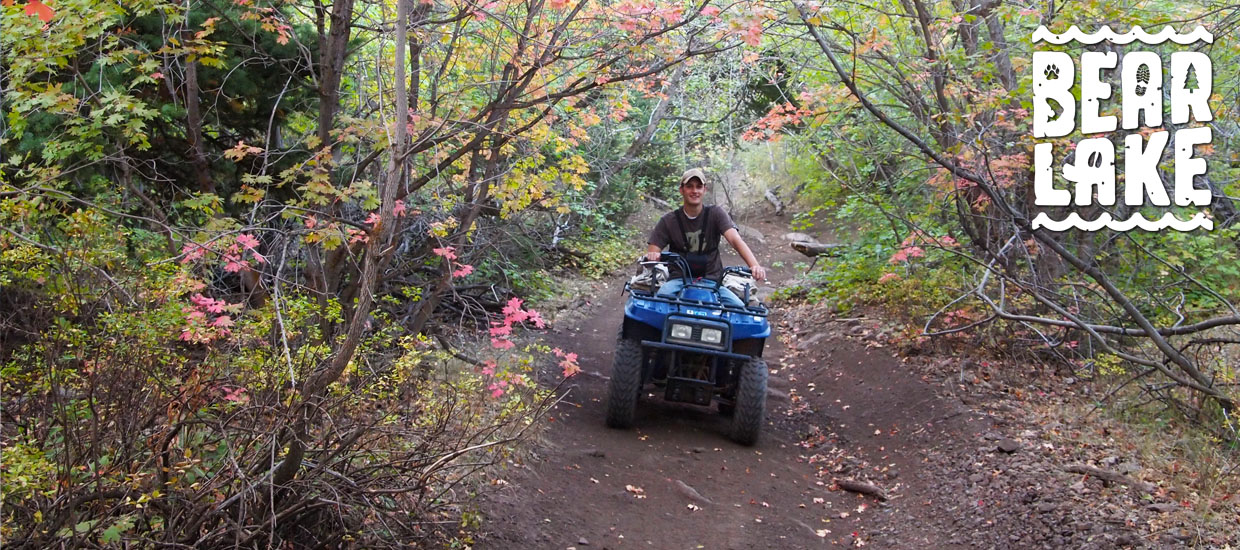 Bear Lake Utah and Idaho ATV Trails