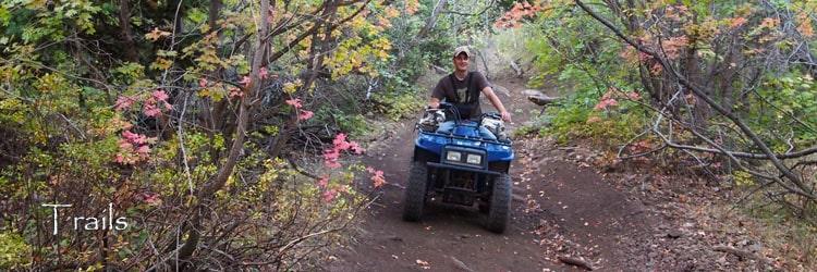 Bear Lake Valley ATV Trails In Utah and Idaho