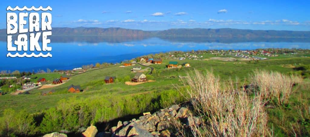 Spring Scenery in Bear Lake Idaho