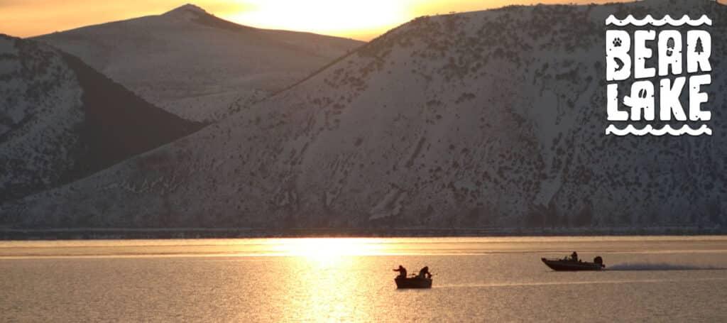 Spring Fishing in Bear Lake in Utah and Idaho