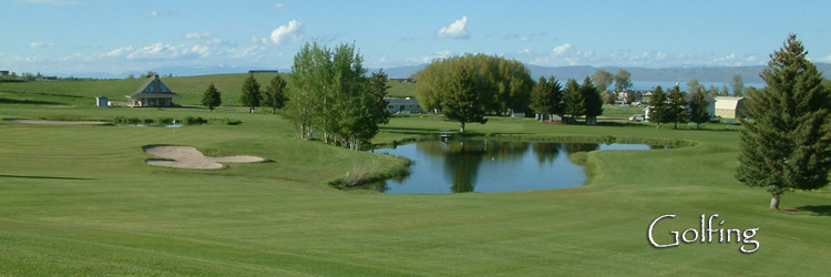 Golfing in Bear Lake Idaho and Utah