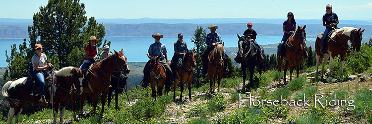 Horseback Riding in the Bear Lake Valley