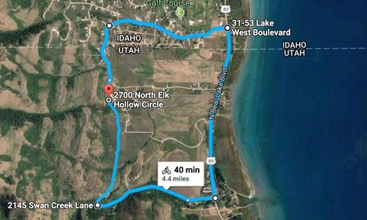 Swan Creek Mountain Bike Trail Visit Bear Lake